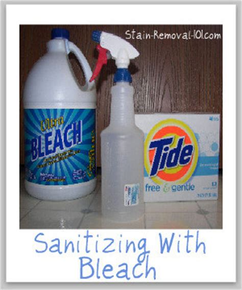 Sanitizing With Bleach Make Your Own Homemade Disinfectant