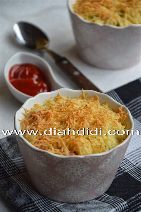 diah didis kitchen makaroni skotel sosis  sayuran