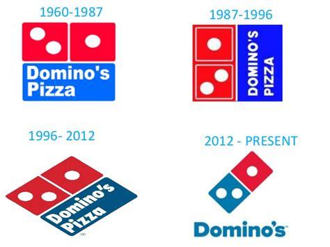 Domino's logo change over the years