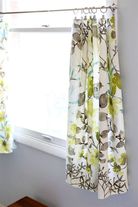 how to make cafe curtains how to make simple cafe curtains curtain menzilperde net