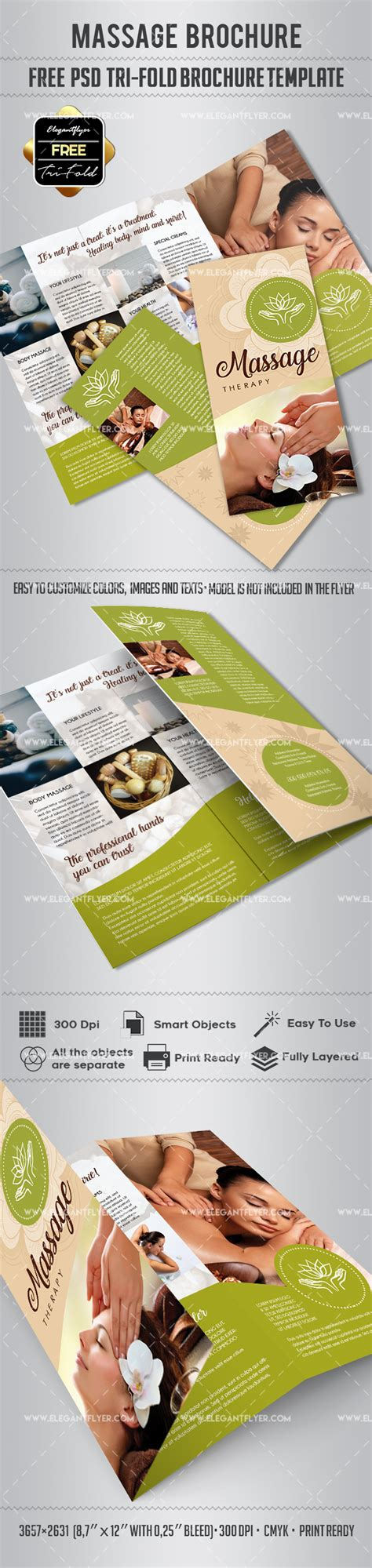 Tri Fold Brochure Templates Free By Elegantflyer Free Psd Tri Fold Psd Brochure Template By
