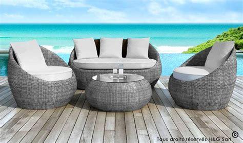bureau design discount salon extrieur 4 places en rsine tresse mobilier de jardin