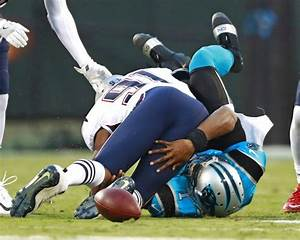 Cam Newton Escapes His 39curse39 With Only A Black Eye This