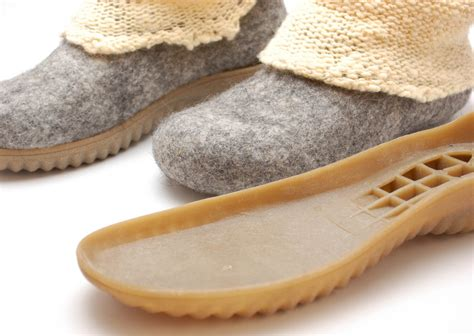 rasos veltinis rubber soles  felted boots