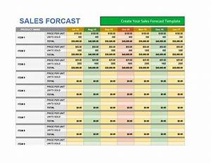 39 sales forecast templates spreadsheets template archive With sale forecast template