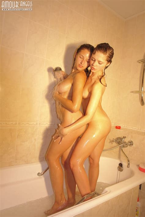 Amour Angels Yaroslava And Olga Dainty Angels Passionate