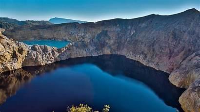 Crater Spotlight Indonesia Kelimutu Lakes Volcano Lake