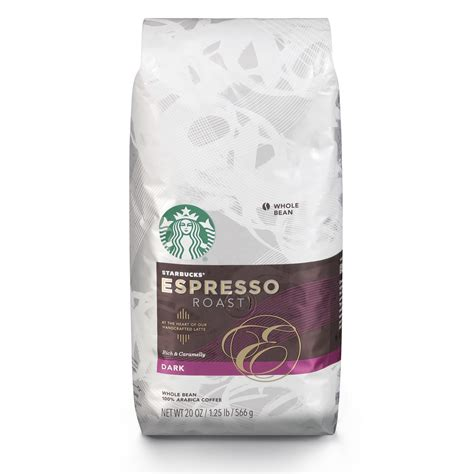 Starbucks coffee helps you to choose the best coffee for your palate. Starbucks Espresso Dark Roast Whole Bean Coffee, 20-Ounce Bag - Walmart.com