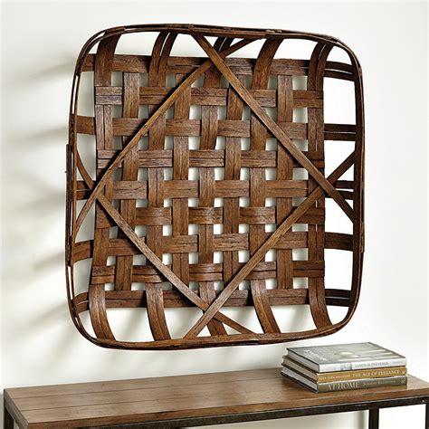 Basket wall decor, nairobi, kenya. Tobacco Basket Wall Décor   Ballard Designs