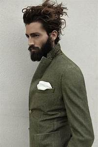 Long curly men's hair and beard | Men's Curly Hair ...