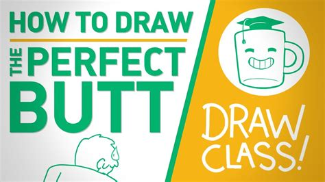 How To Draw The Perfect Butt  Drawclass Youtube
