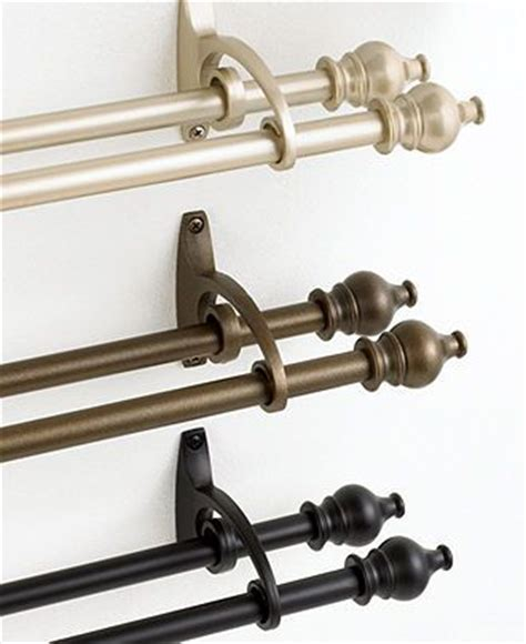 macys decorative curtain rods 129 best images about window designs on bay