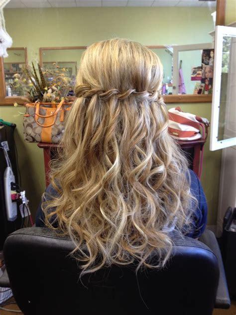 waterfall braid      curls google