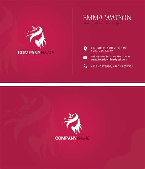 nice clean business card psd freedownloadpsdcom