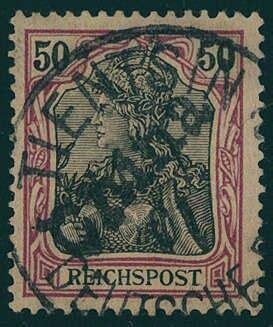 wertvolle deutsche briefmarken deutsche auslandspost china tientsin 1901 wertvolle