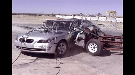 accident recorder 2008 bmw z4 navigation system 2008 bmw 528i side crash test by nhtsa crashnet1 youtube