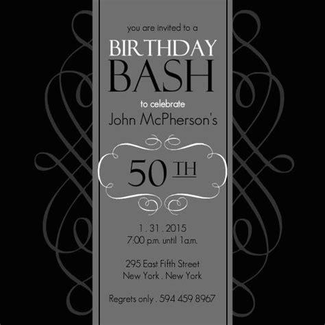 50th anniversary invitations templates 50th birthday invitation templates a birthday cake