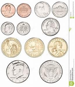 American Coins Money stock photo. Image of money, five ...