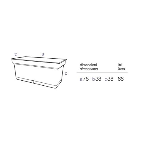 vaso a riserva d acqua vaso rettangolare bianco con riserva d acqua sottovaso e