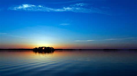 blue sunset  images hd desktop backgrounds