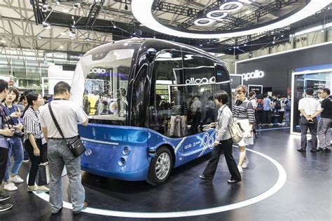 mass produced autonomous busses baidu self driving buses