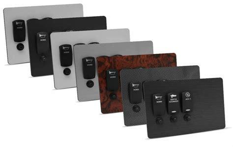 switch panel options new wire marine
