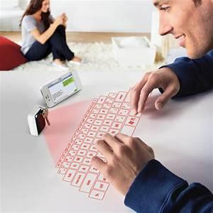 Keychain Laser Projection Virtual Keyboard - The Green Head