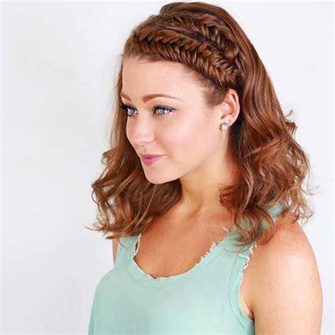 chic braided hairstyles  medium length hair stayglam