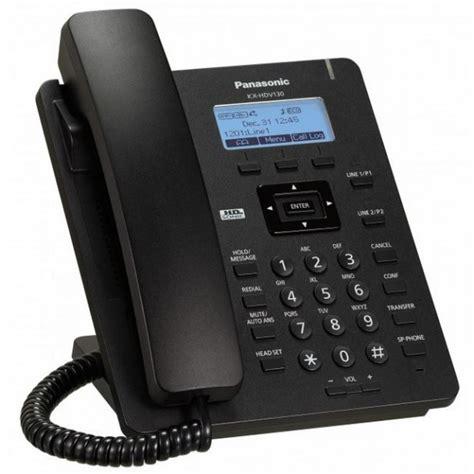 panasonic kx hdv130 basic sip phone voip supply