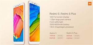 Xiaomi Redmi 5  Redmi 5 Plus  Official Price  Design