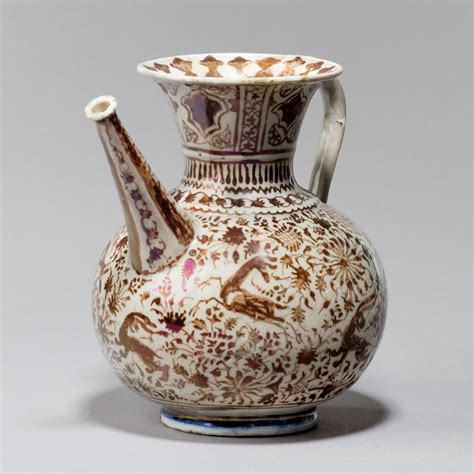 Lustre Vase by A Safavid Lustre Ware Vase C 1650 From Wick