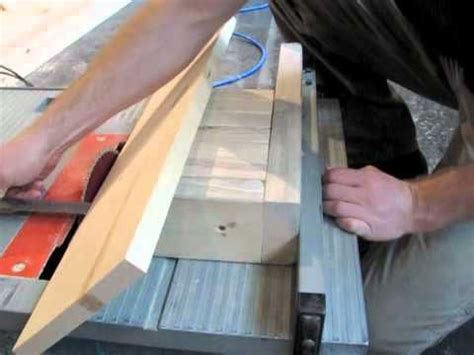 cutting tapers   table  woodworking projects plans