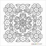 Crochet Coloring Adult Patterns Zentangles Doodles Uploaded sketch template