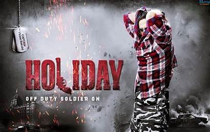 Holiday Poster Bollywood Movies Kumar Akshay Trailer