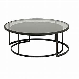 Table Gigogne Marbre : cristal petite table ronde blanche gigogne but lot metal tables basse gigognes massif fly brut ~ Teatrodelosmanantiales.com Idées de Décoration