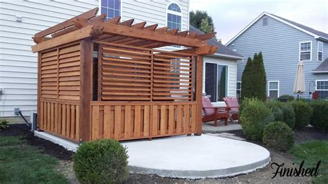 31 awesome hot tub enclosure ideas: Hot Tub / Spa Enclosure - FLEX•fence - Louver System