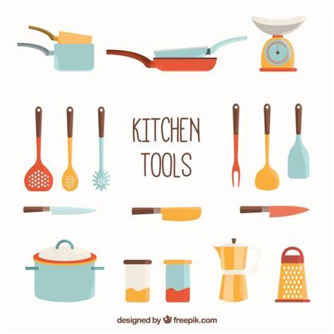 outils de cuisine outils de cuisine collection télécharger des vecteurs