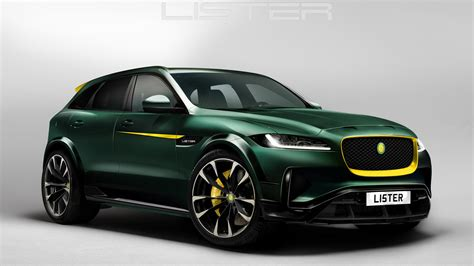 Jaguar F Pace Modification by Lister Jaguar F Pace Revealed With 680hp And 200mph Top