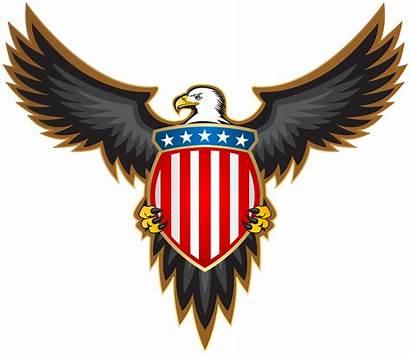 Eagle Badge American Clip Clipart United Transparent