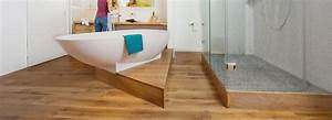 Holz Im Badezimmer : so klappt s mit dem holzboden im bad holz vom fach ~ Lizthompson.info Haus und Dekorationen