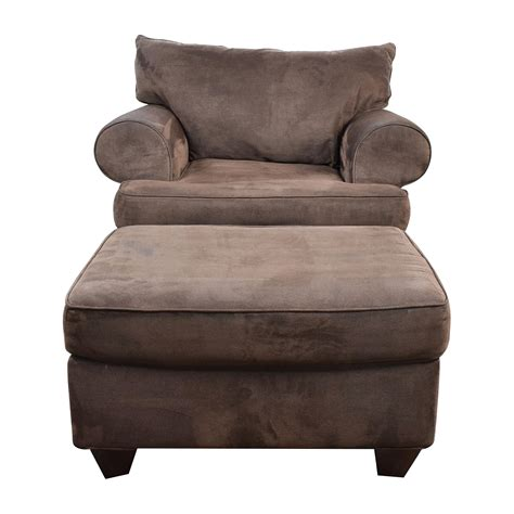 sofa chair and ottoman elite leather milan sofa chair