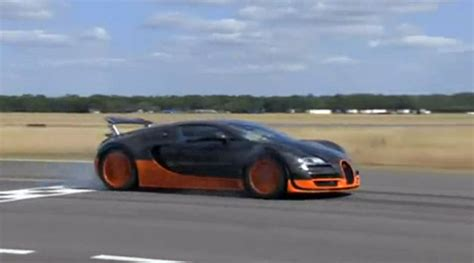 Ausmotive.com » Veyron Super Sport Sets New Top Gear Track