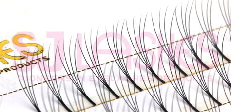 pre fanned volume lashes 0 10mm 4d pre fanned russian volume lashes fds04b tray