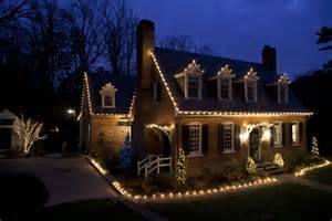 custom holiday lighting for the home brings out style and