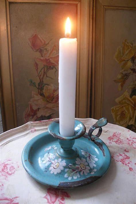 candele francesi francese antichi smalto candela bastone bastone di