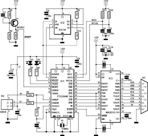 Serial Usb Converter Cable Schematic Allpinouts