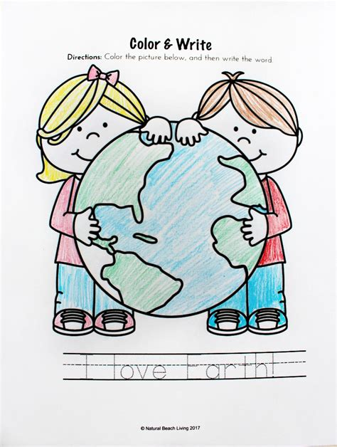 earth day activities preschool amp kindergarteners 174 | Earth Day printables 3
