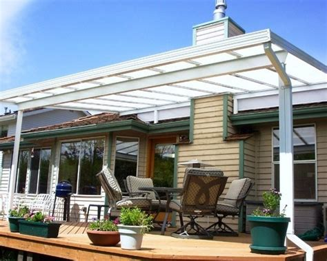 roof mounted sloped patio cover canton aluminum