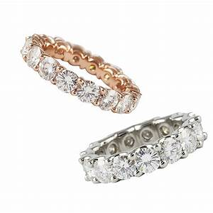 Introducing Moissanite Eternity Bands   Jewelry Blog ...
