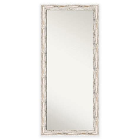 white distressed mirror 29 inch x 65 inch alexandria floor mirror in distressed 1024